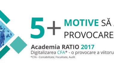 5+ beneficii ale participării la Academia RATIO 2017